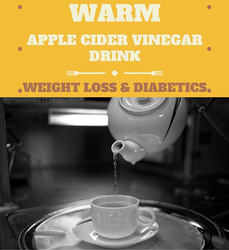 Diabetes Warm Apple Cider Vinegar Drink For Weight Loss