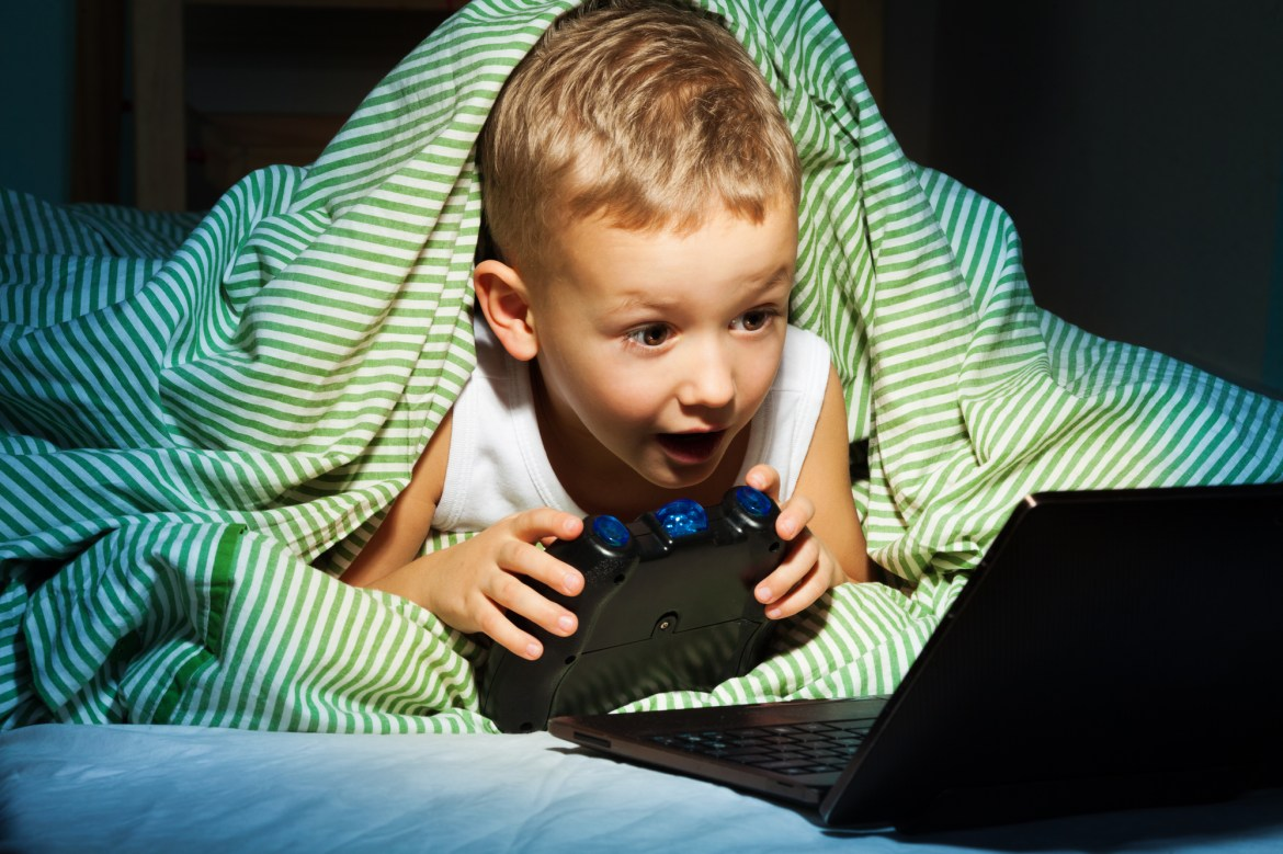 Image result for Screentime Is Making Children Stressed