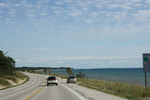 Road Trip lake Michigan