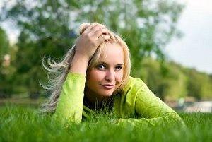 Single Happy Woman