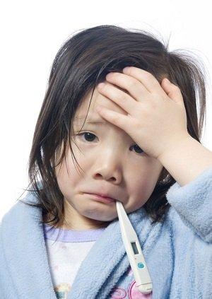 Girl Feeling Sick