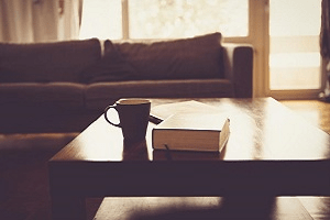 Bible and Coffee in the Morning