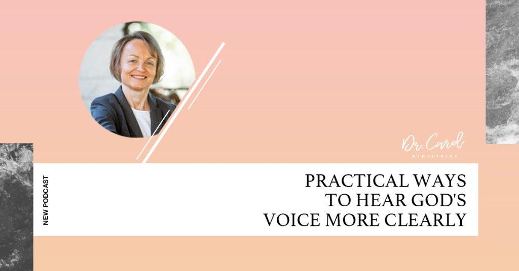 Five Practical Ways to Hear God's Voice