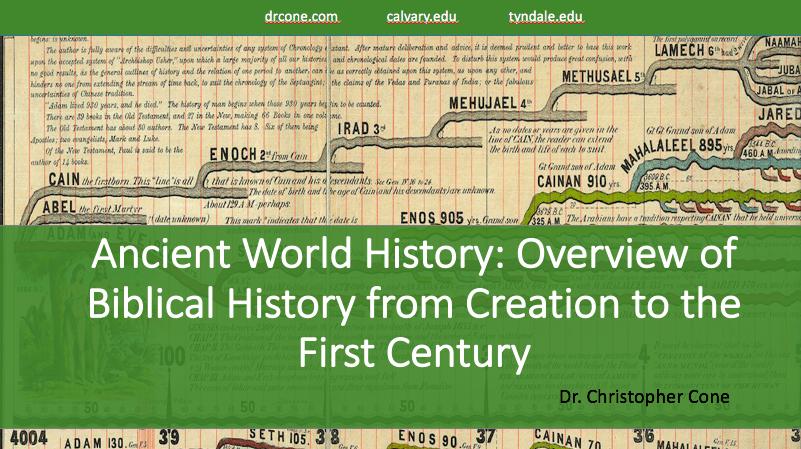 Ancient World History (Slides)