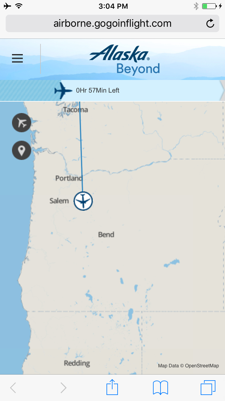Review Alaska Airlines Domestic First Class Seattle To