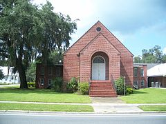 Wedding Venue in Gilchrist County: First Baptist Church of Trenton