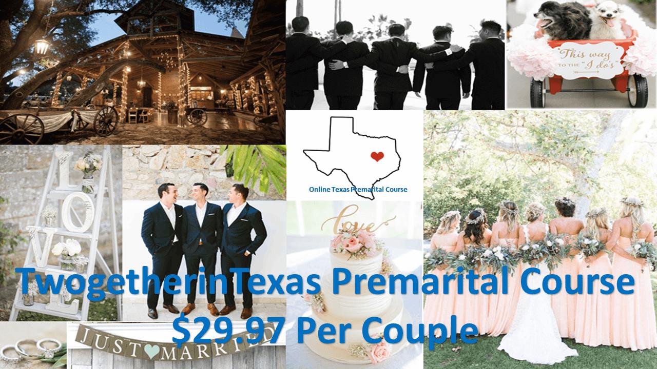 Twogether in Texas Premarital Course online