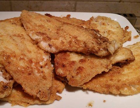 "Fried ""Breaded"" Fish"