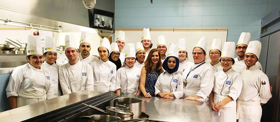 George Brown College AH Chef Class1