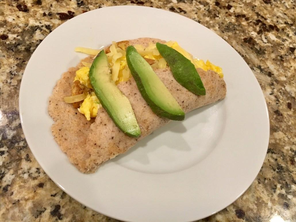 Keto diets: tortillas
