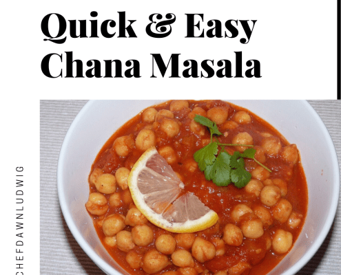 Easy Vegan Chana Masala