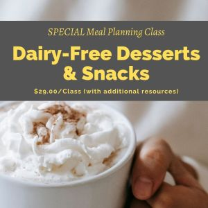 Dairy-Free Desserts and Snacks