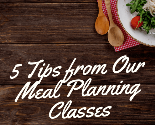 5 tips from our meal planning classes - thumbnail