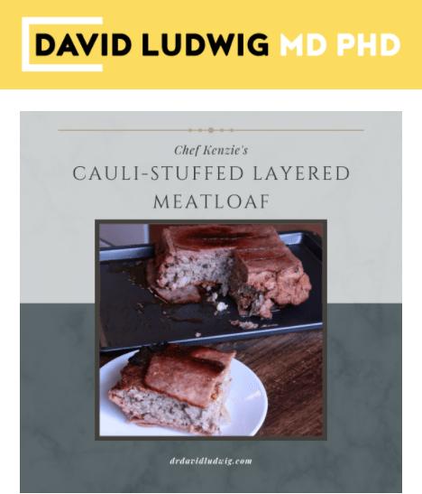 Cauli-stuffed layered meatloaf Newsletter