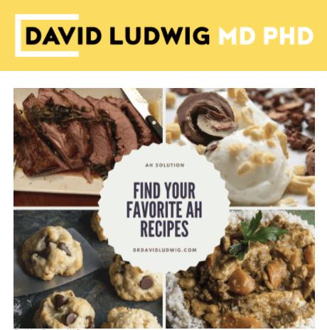 Find your favorite AH recipes Newsletter