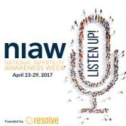 Listen Up! It's National Infertility Awareness Week.