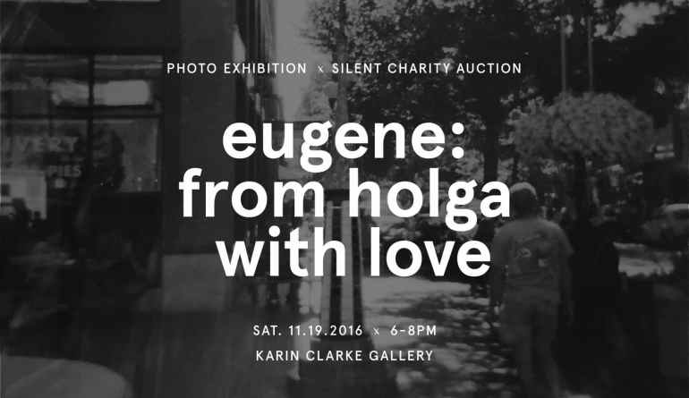 Beneficiaries for Eugene Holga event