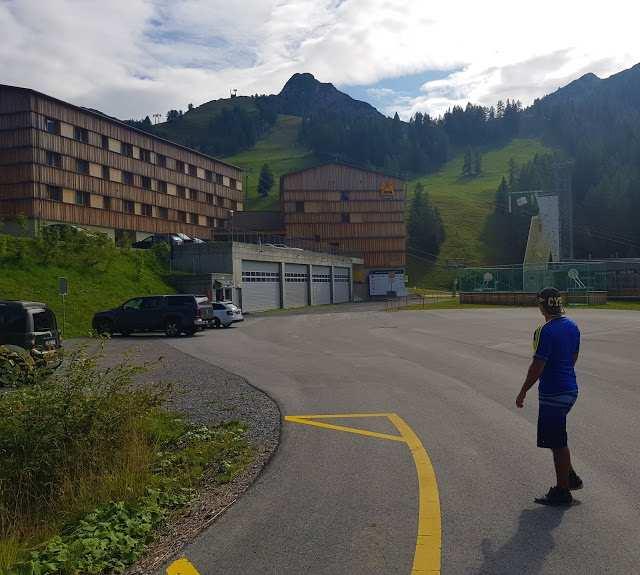 Entrada do Jufa hotel