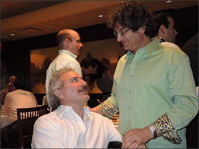 Dr Guillermo Blugerman and Dr Firas Hamdan