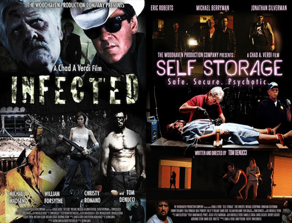 Woodhaven Production's Infected and Self-Storage Receive Worldwide VOD Distro