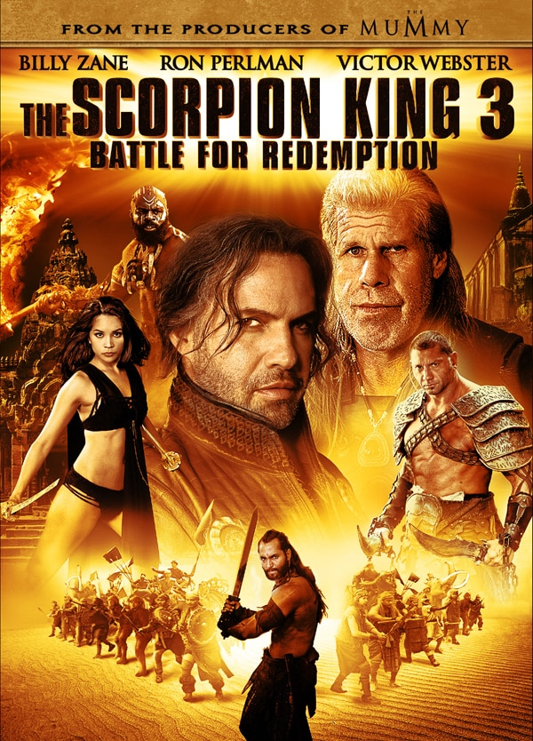 The Scorpion King 3: Battle for Redemption  Slashes its Way to Blu-ray and DVD