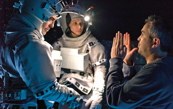 Behind the scenes on Gravity