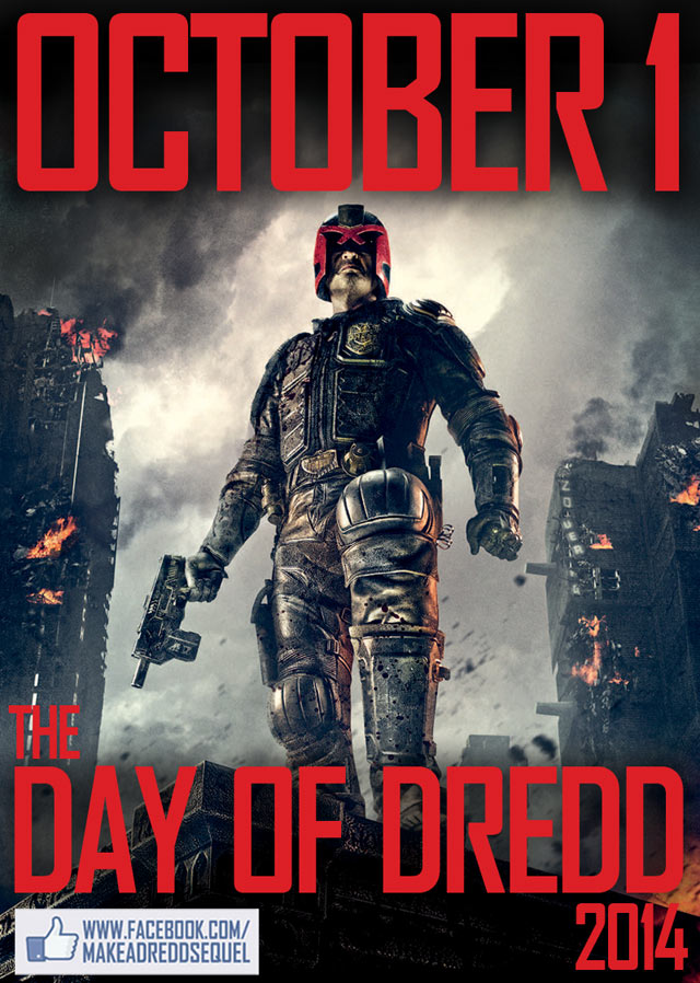 October 1st is the Day of Dredd 2014