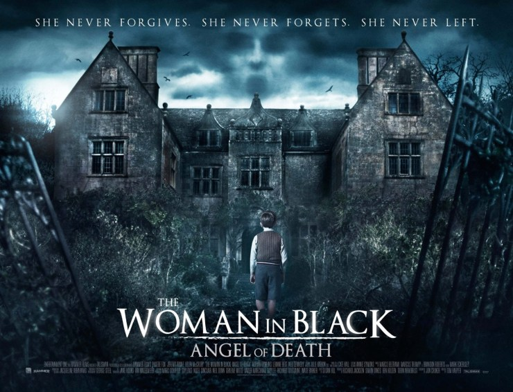 woman in black angel of death quad - The Woman in Black: Angel of Death Artwork Goes Trick or Treating