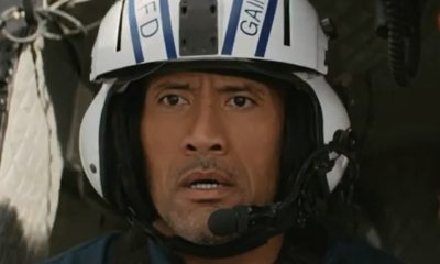 rock - The Rock Plays Action Hero in New San Andreas Clip