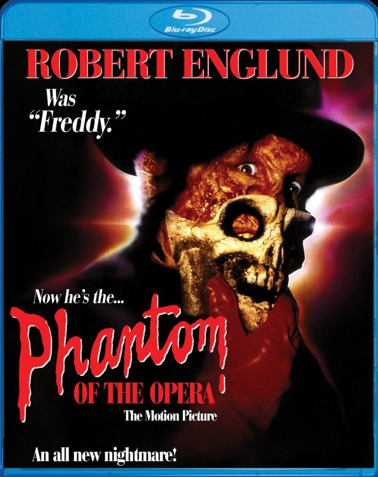 the phantom of the opera - The Phantom of the Opera with Robert Englund Sings on Blu-ray