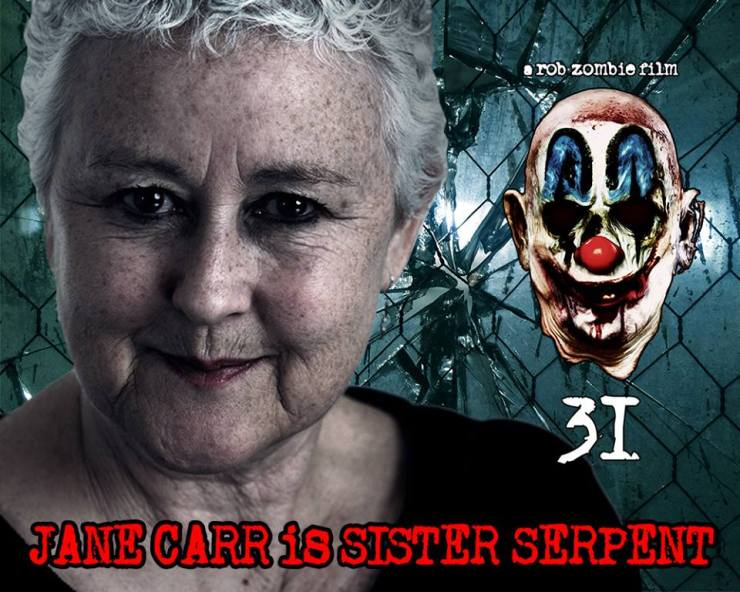 Jane Carr 31 - Rob Zombie's 31 - Jane Carr Slithers as Sister Serpent