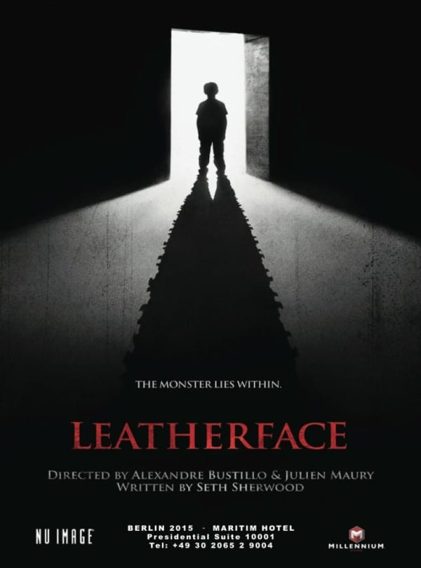 leatherface poster - Young Leatherface Found for Prequel?