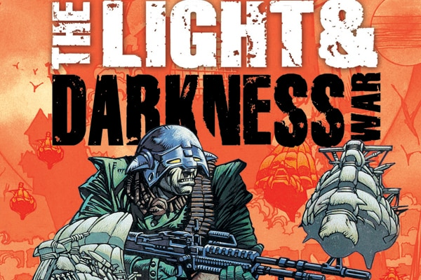 Image result for the light and darkness war comics