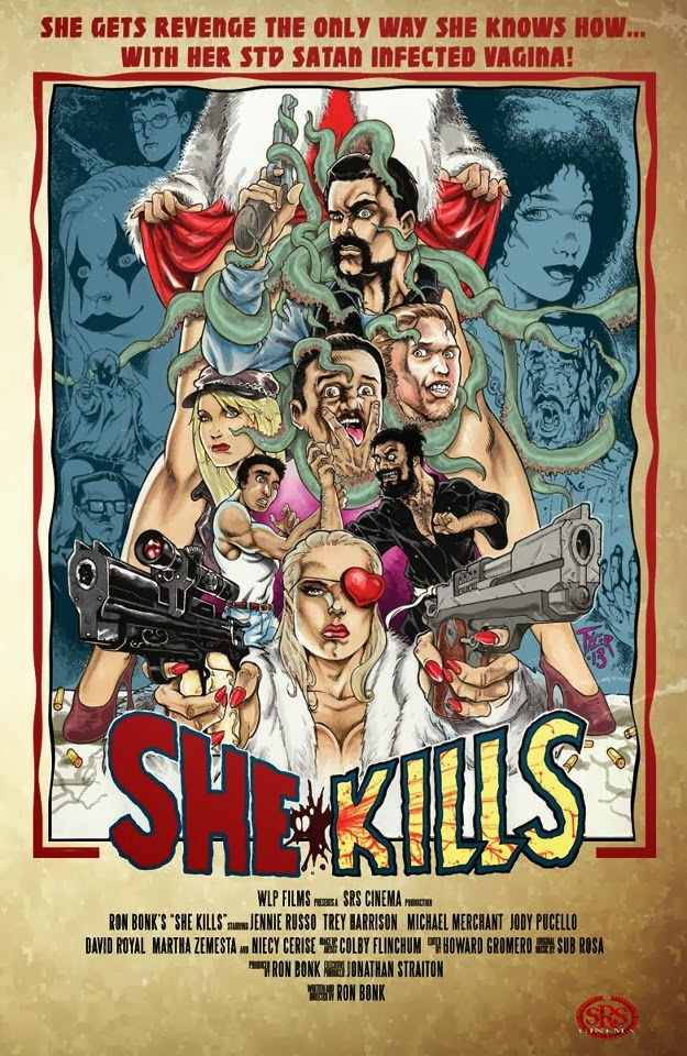 she kills - She Kills Trailer Gives a Whole New Meaning to the Term Pussy Power