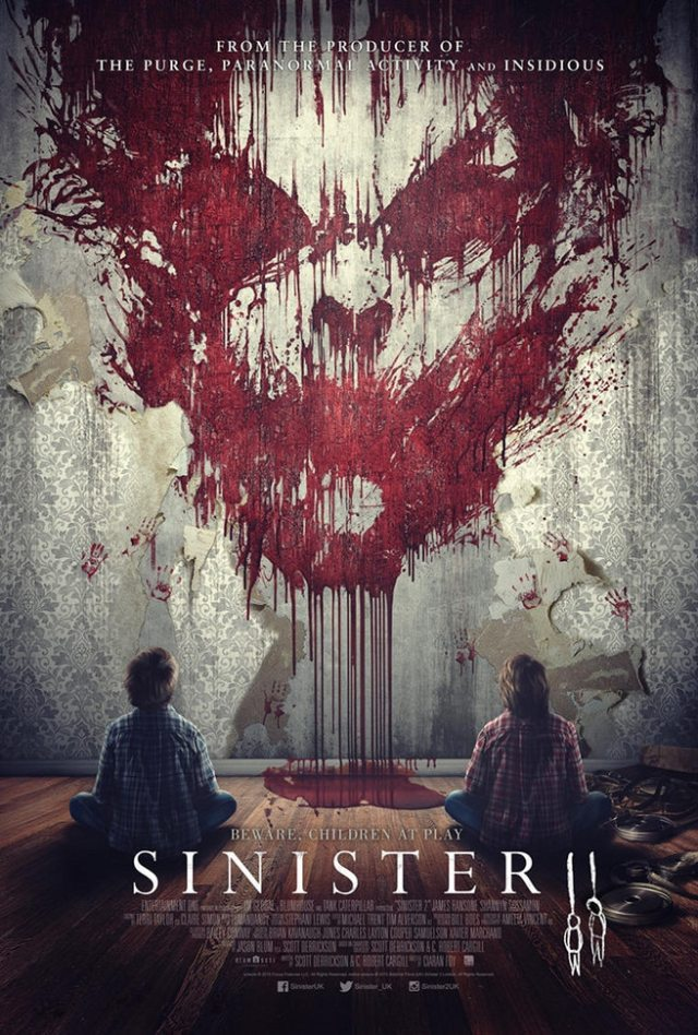 sinister 2 poster new horror - #SDCC15: Sinister 2 Red Band Trailer Packed With Spooky Children