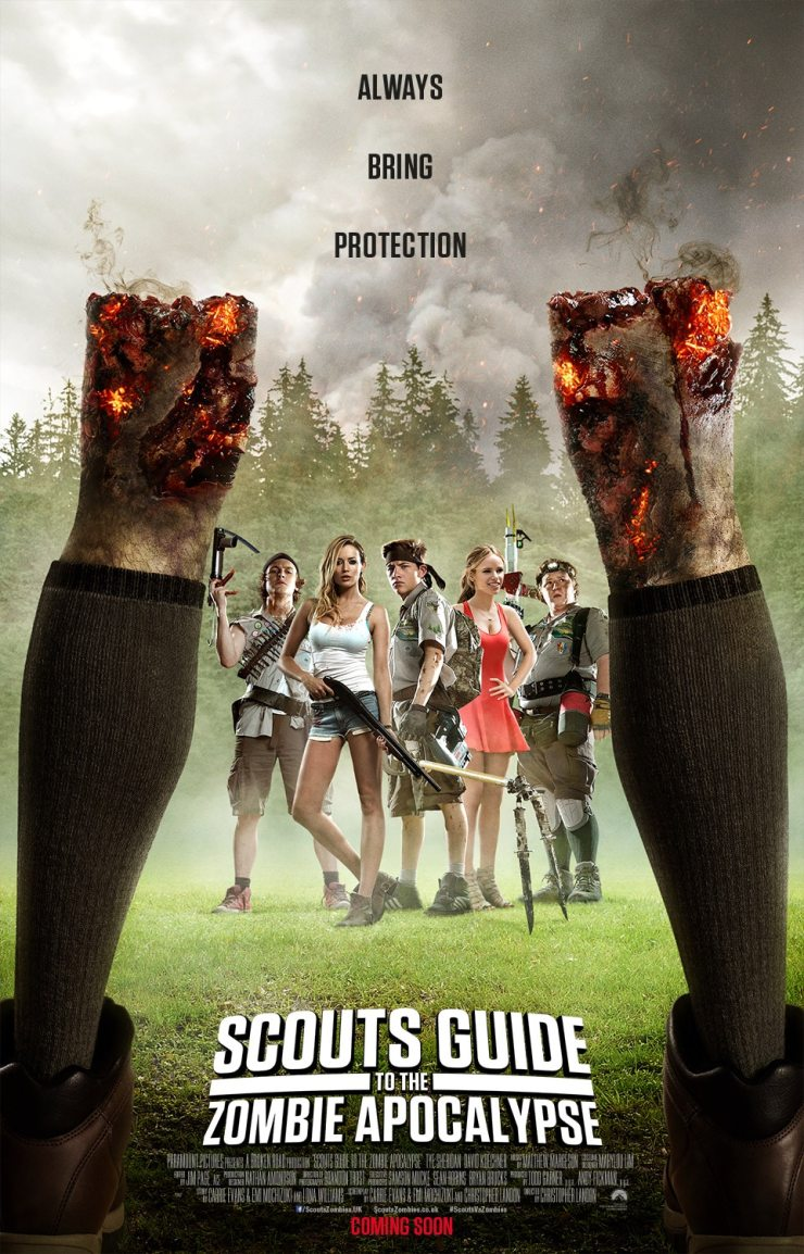Scouts Guide to the Apocalypse UK - Leggy Scouts Guide to the Zombie Apocalypse One-Sheet