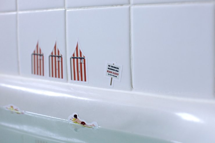 Jaws Decal 2 - Jaws Bathroom Decals Bring the Giant Shark Into Your Home