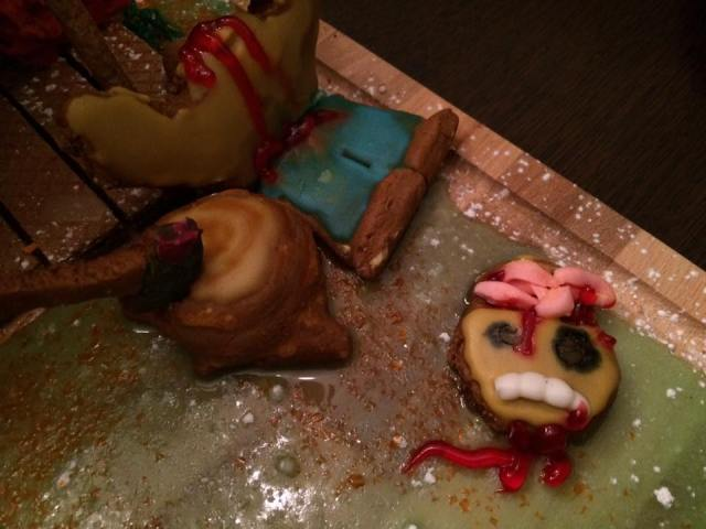 Evil Dead Cabin 2 - Evil Dead Gingerbread Cabin Is Deliciously Evil