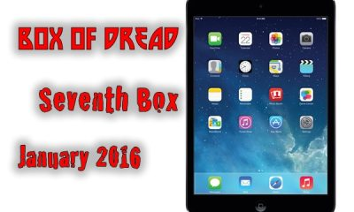 Box Of Dread January 2016 Seventh Box