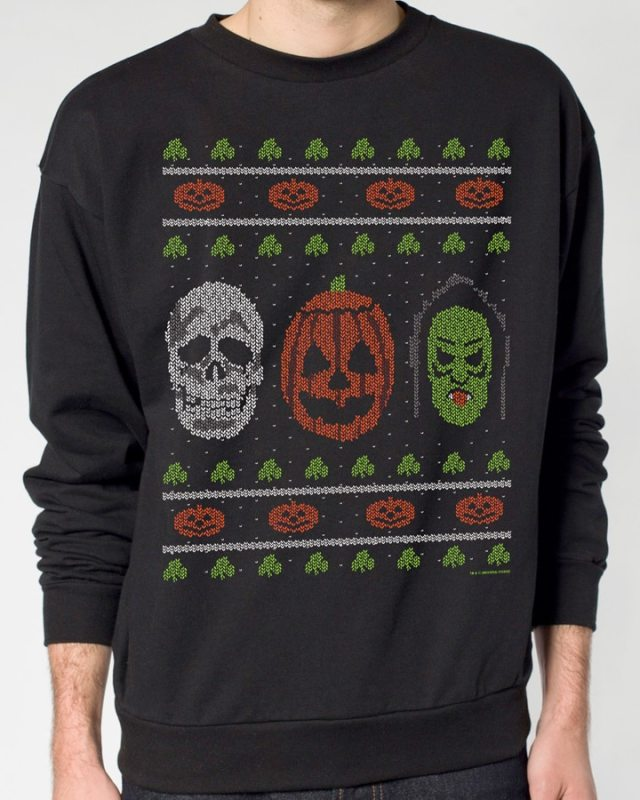 Fright Rags Unleashes Ugly Christmas Sweaters; Krampus, Jaws ...