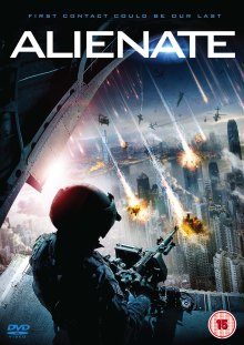 Alienate UK DVD Sleeve
