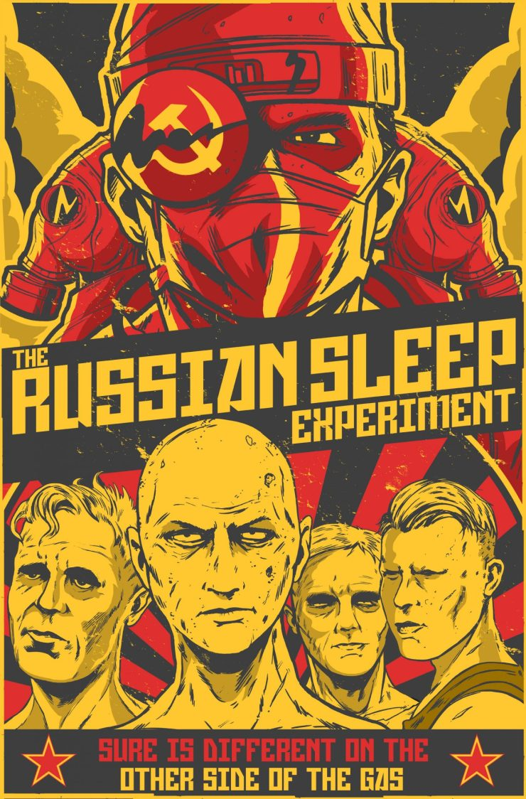 the russian sleep experiment creepypasta novella now a short film