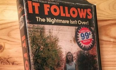 it follows vhs - Artist Makes Vintage VHS Boxes for Current Horror Movies