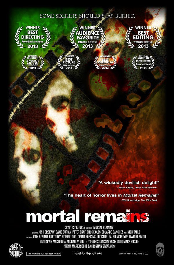 mortalremainsnew - Mortal Remains Heading to DVD/VOD; Special October Screening to Include Double Feature with Culture Shock