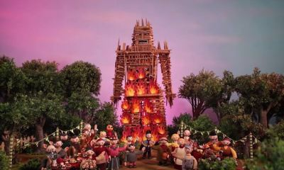 radiohead wicker man 1 - Radiohead's Burn the Witch Stop-Motion Music Video Channels The Wicker Man