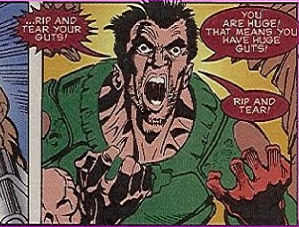 Doom pic 1 - Rip and Tear: Revisiting the Glorious Insanity of the Doom Comic