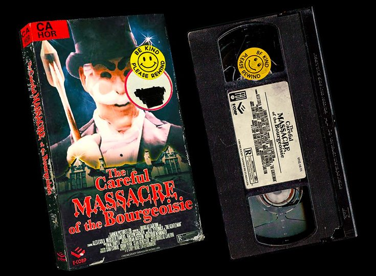 careful massacre of the bourgeoisie1 - Mr. Robot Creators Release 8-Minute 80s VHS Slasher!