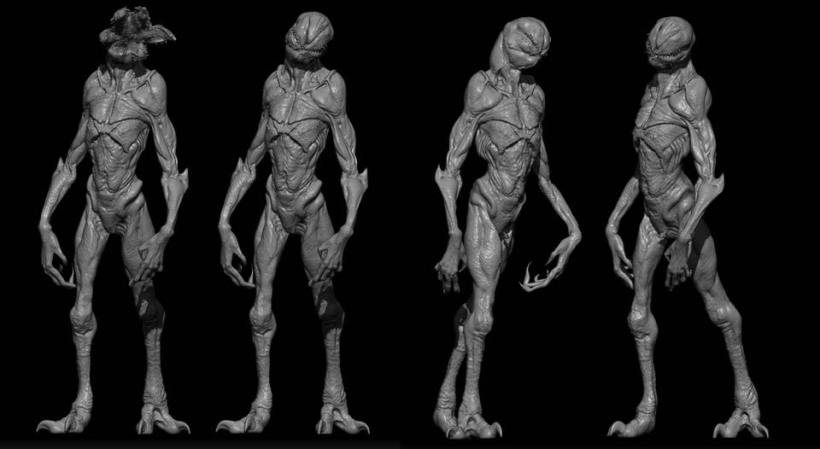 Stranger Things - Original Demogorgon Concept Art and Awesome Remixed Theme! - Dread Central