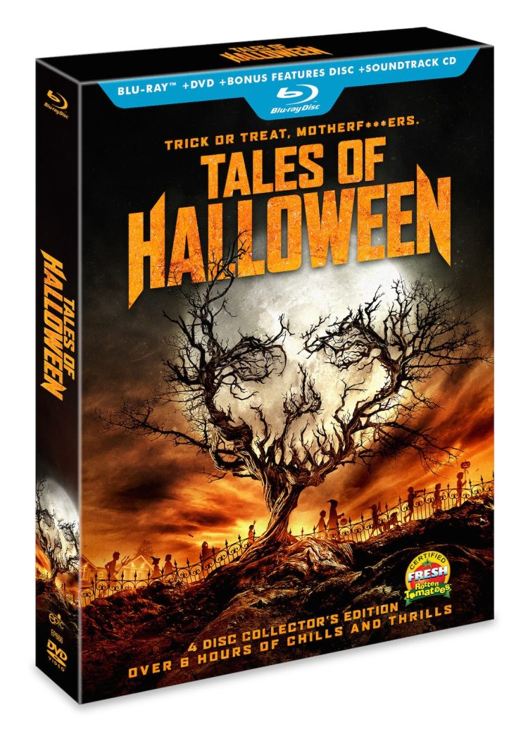 tales of halloween blu ray - Saturn Awards 2017: Tales of Halloween's Mike Mendez and Axelle Carolyn on Award Nomination