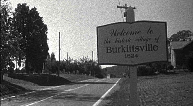 Blair Witch Burkitsville Sign - Blair Witch - A Summary of Easter Eggs and Nods